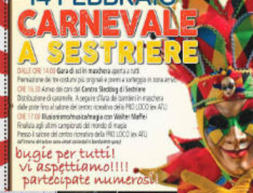 Carnevale a Sestriere