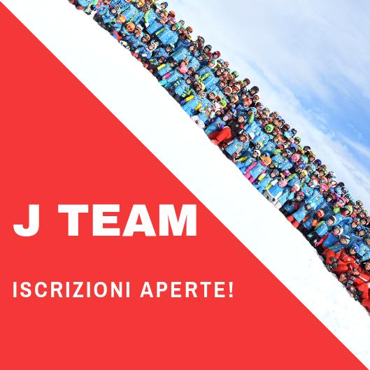 J TEAM 2020_ISCRIZIONI APERTE!!!