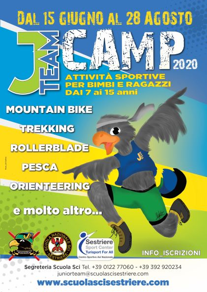 J TEAM CAMP per un'estate indimenticabile!